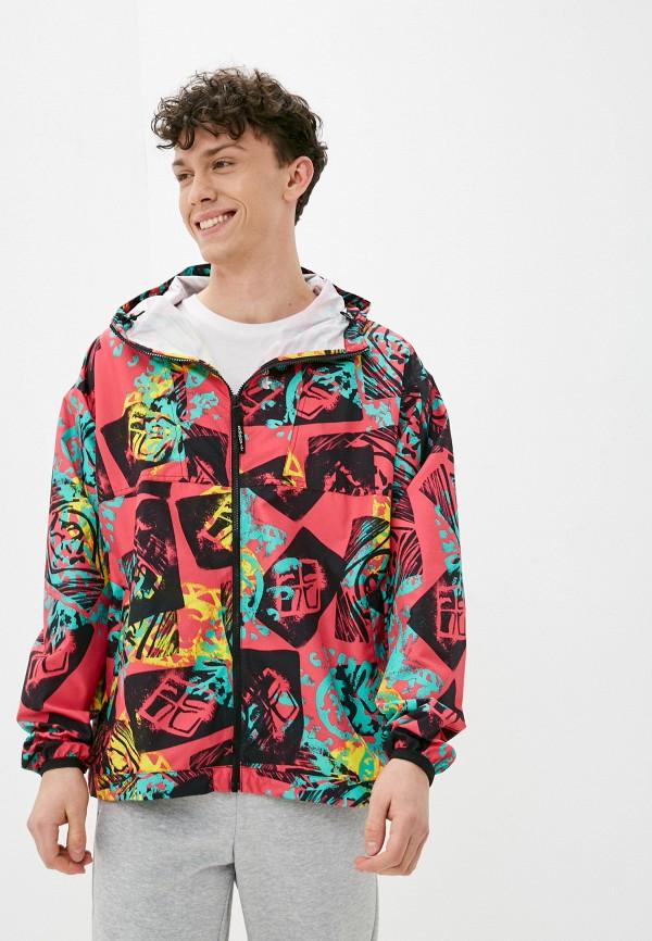 мужская спортивные куртка adidas, разноцветная