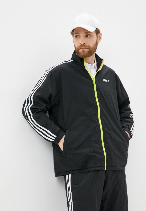 мужская спортивные олимпийка adidas, черная