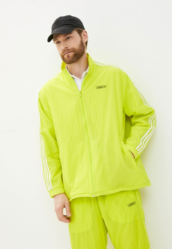 мужская спортивные олимпийка adidas, желтая