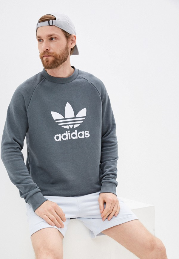 Свитшот adidas Originals adidas Originals GN3471 серый фото