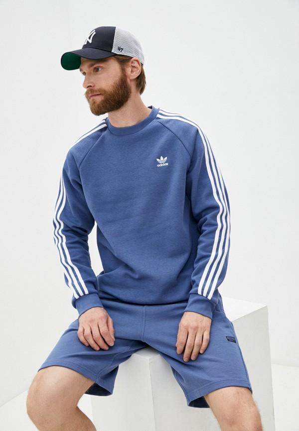 Свитшот adidas Originals adidas Originals GN3482 синий фото