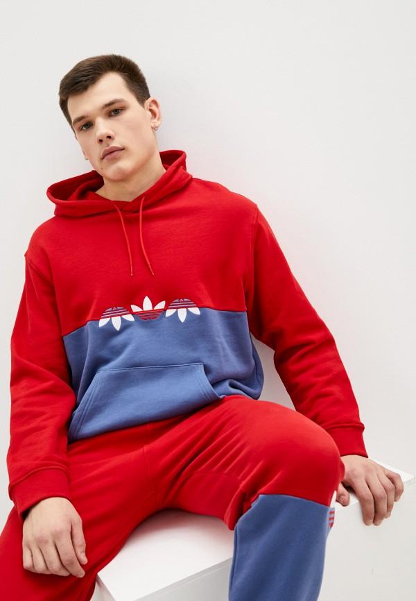 мужские худи adidas, разноцветные
