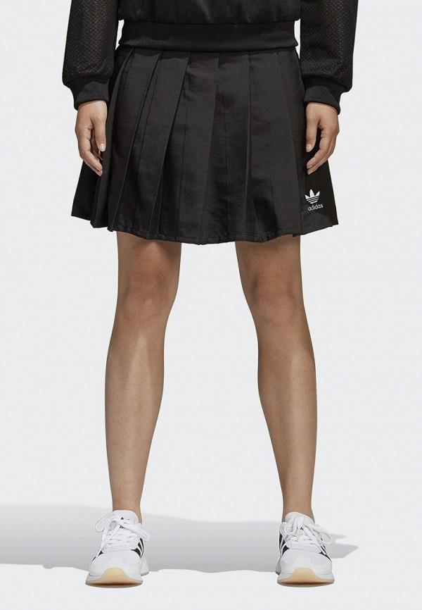 цена Юбка adidas Originals adidas Originals AD093EWALOP5