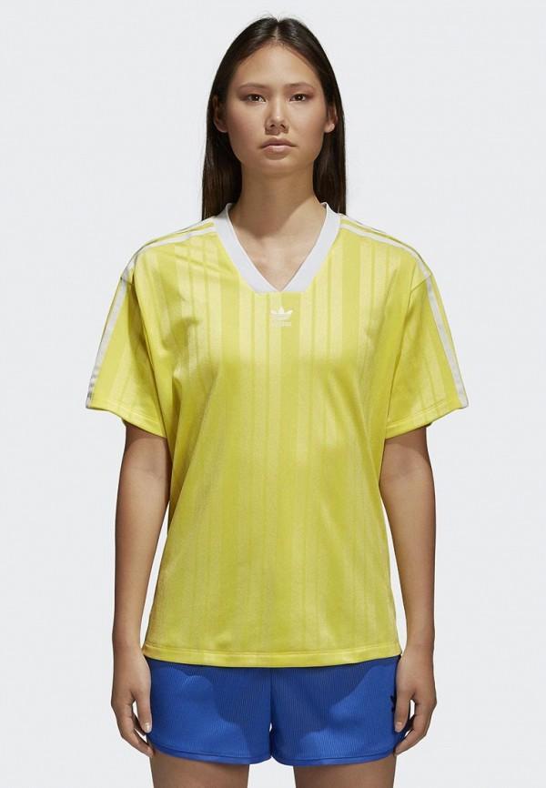 Футболка adidas Originals adidas Originals AD093EWALOR1 недорого