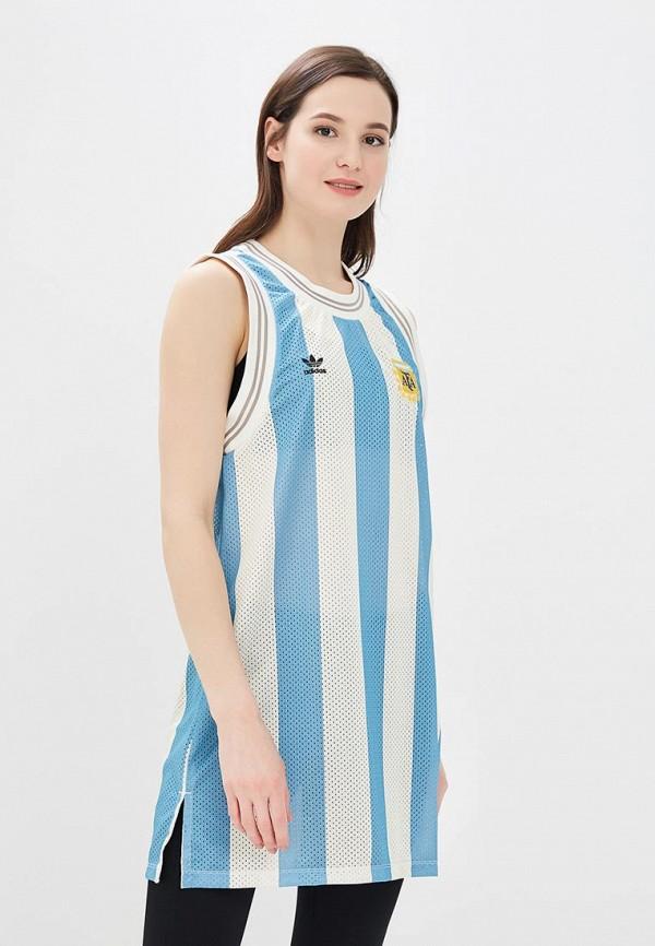 Платье adidas Originals adidas Originals AD093EWALOR7 adidas adidas originals hand drawn basketball ss tee