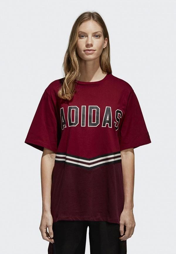 Футболка adidas Originals adidas Originals AD093EWALOU6 футболка adidas originals adidas originals ad093ewalou5
