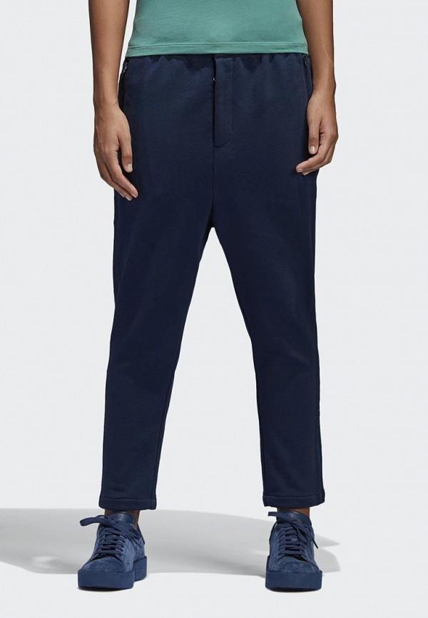 женские брюки adidas, синие