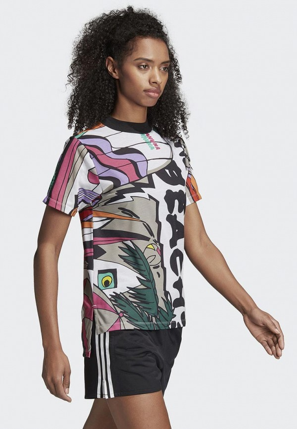 Футболка adidas Originals adidas Originals AD093EWALOV6 футболка adidas originals adidas originals ad093ewalov1