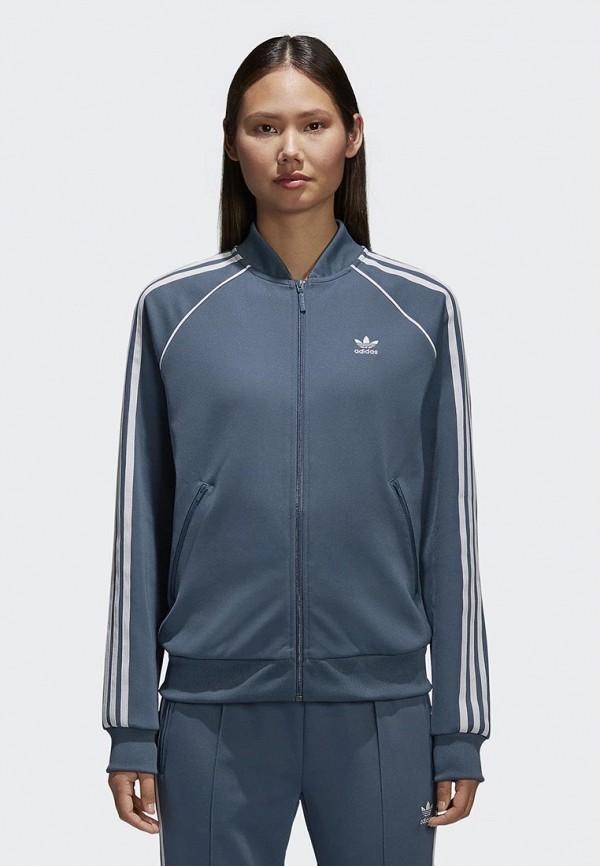 Купить Олимпийка adidas Originals, adidas Originals AD093EWALOW1, синий, Весна-лето 2018