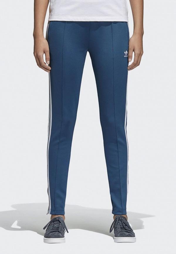 Купить Брюки спортивные adidas Originals, adidas Originals AD093EWALOW5, синий, Весна-лето 2018