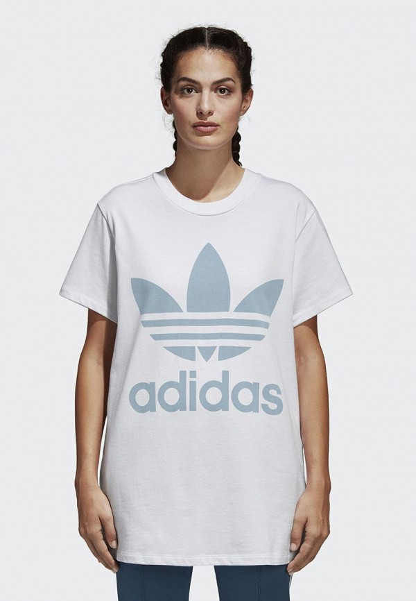Футболка adidas Originals adidas Originals AD093EWALOX7 стоимость