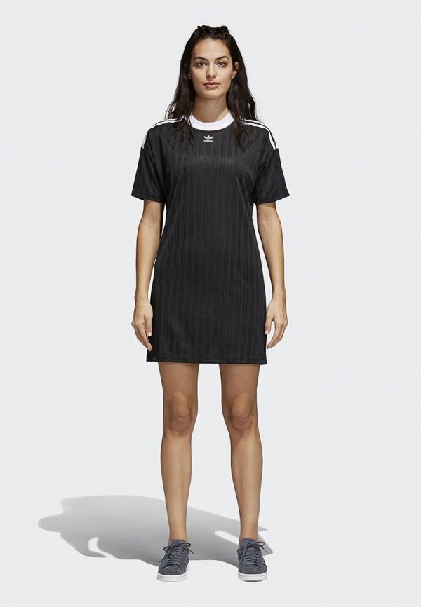 Платье adidas Originals adidas Originals AD093EWALOY7 adidas adidas originals hand drawn basketball ss tee