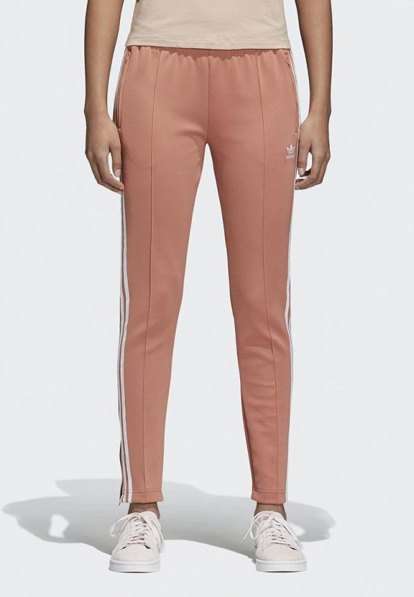 Купить Брюки спортивные adidas Originals, adidas Originals AD093EWALPD4, розовый, Весна-лето 2018