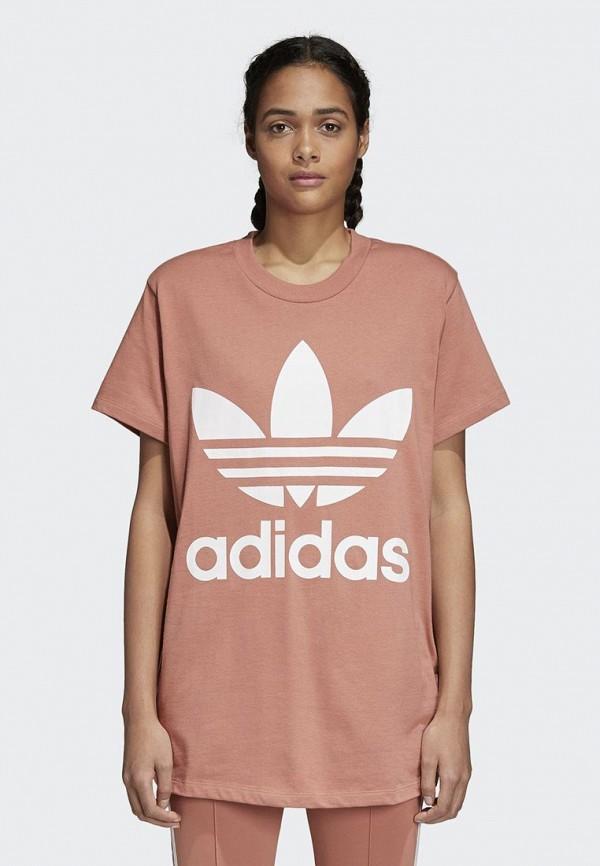 Футболка adidas Originals adidas Originals AD093EWALPD6 футболка adidas originals adidas originals ad093ebqht63