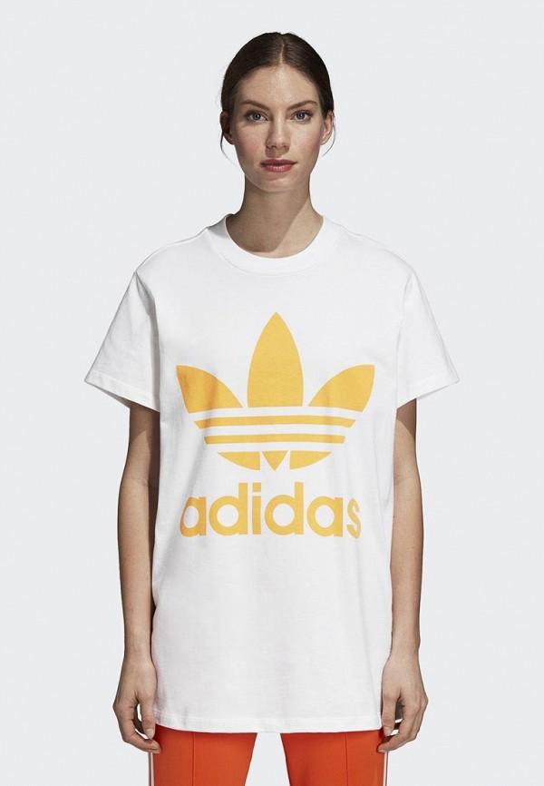 Футболка adidas Originals adidas Originals AD093EWCCZH9 худи adidas originals adidas originals ad093ewcczg4
