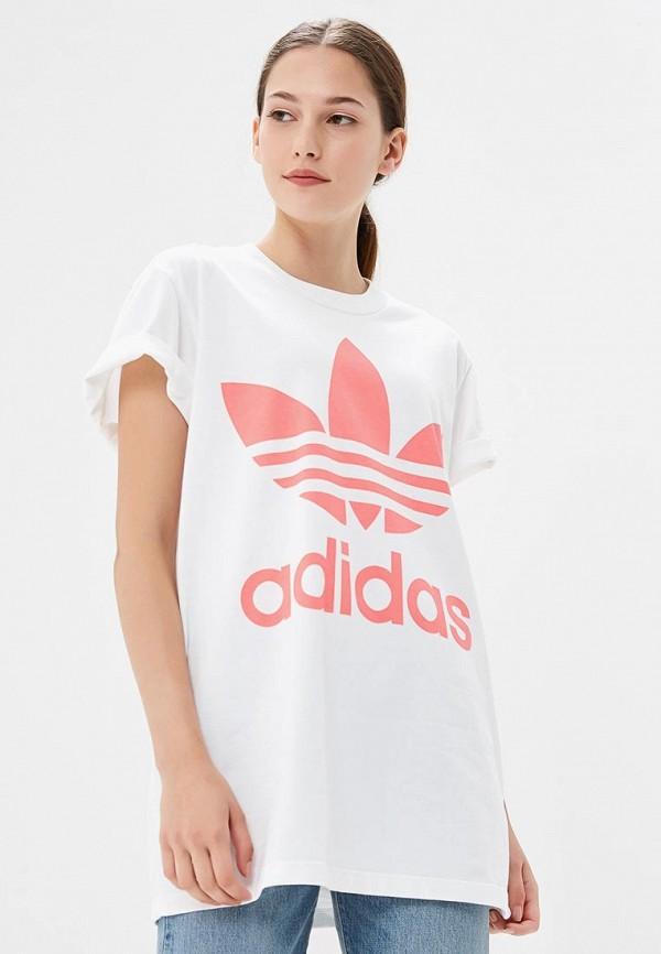 Футболка adidas Originals adidas Originals AD093EWCCZI8 все цены