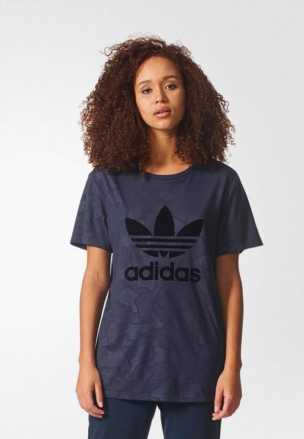 Футболка adidas Originals adidas Originals AD093EWDKNZ0 все цены