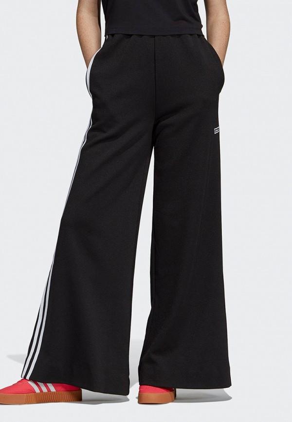 женские спортивные спортивные брюки adidas, черные