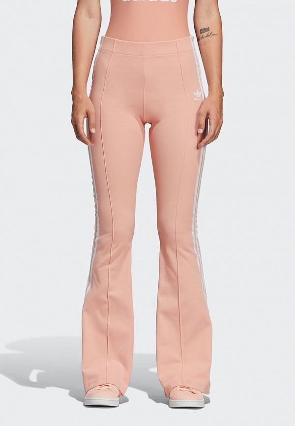 женские спортивные спортивные брюки adidas, розовые