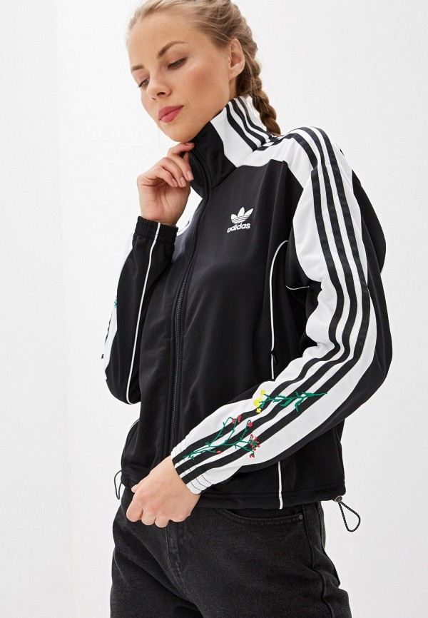 Олимпийка adidas Originals adidas Originals AD093EWFKPU6 недорго, оригинальная цена