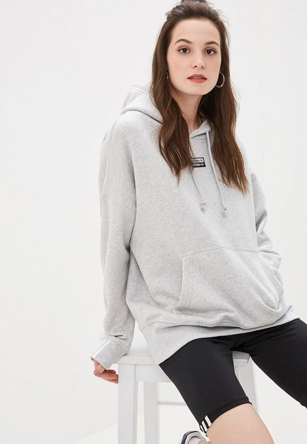Худи adidas Originals adidas Originals AD093EWFKPX0 худи мужское adidas ctc ho fleece цвет серый bp9653 размер 46
