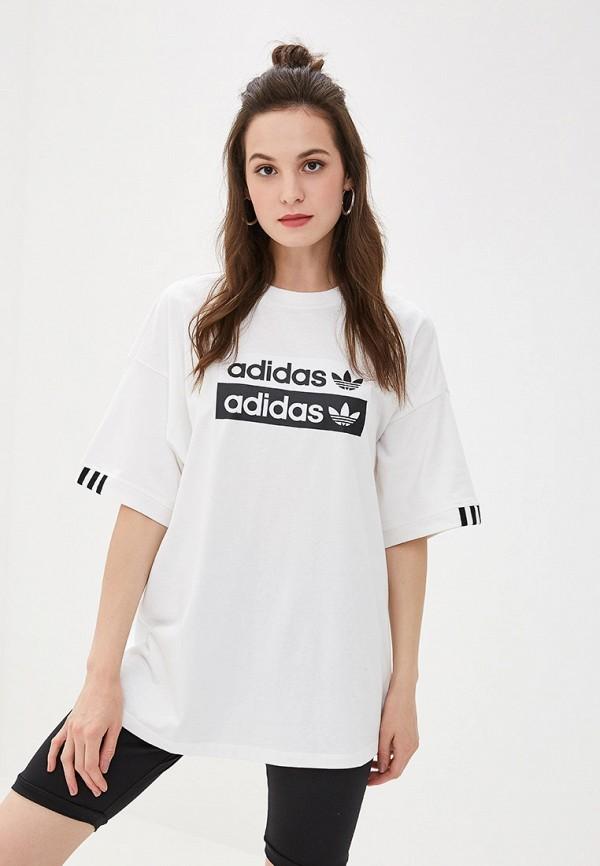 Футболка adidas Originals adidas Originals AD093EWFKPY1 футболка adidas originals adidas originals ad093emeesi6