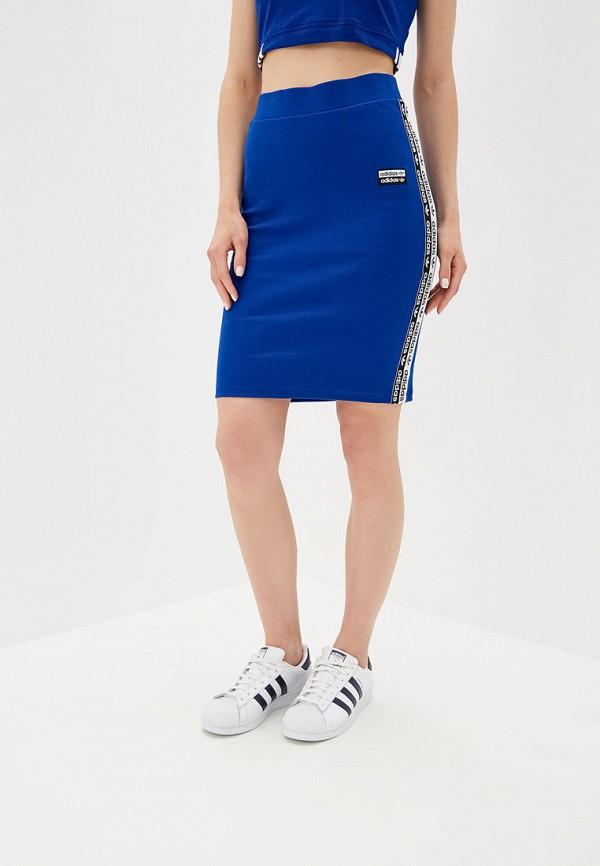 Юбка adidas Originals adidas Originals AD093EWFKXI0 adidas originals юбка до колена