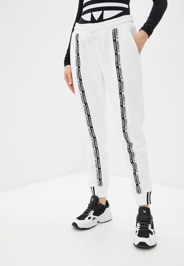 женские спортивные брюки adidas, белые