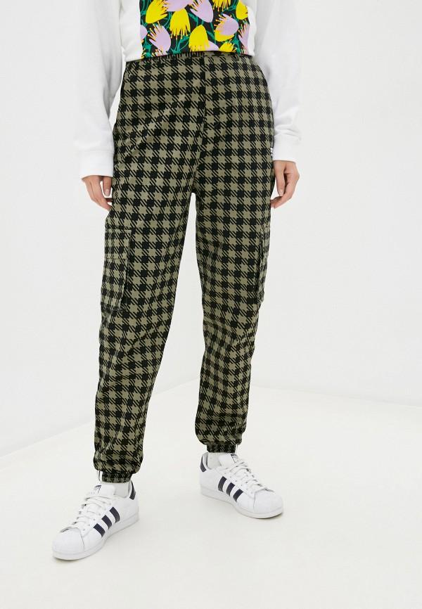 женские брюки карго adidas, хаки