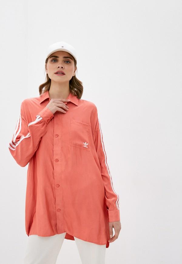 женская рубашка с длинным рукавом adidas