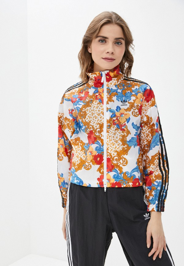 женская куртка adidas, разноцветная