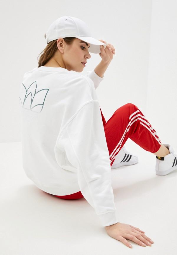 женский свитшот adidas, белый