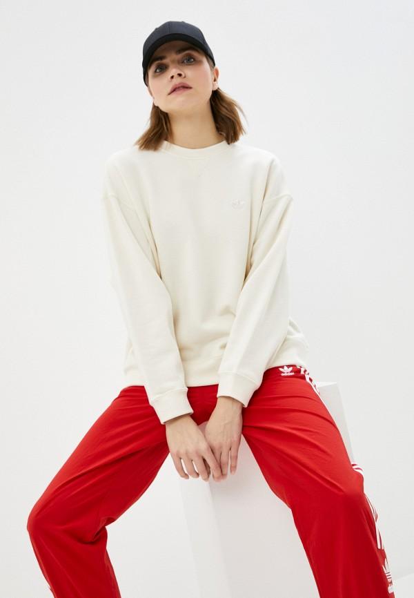 женский свитшот adidas, бежевый