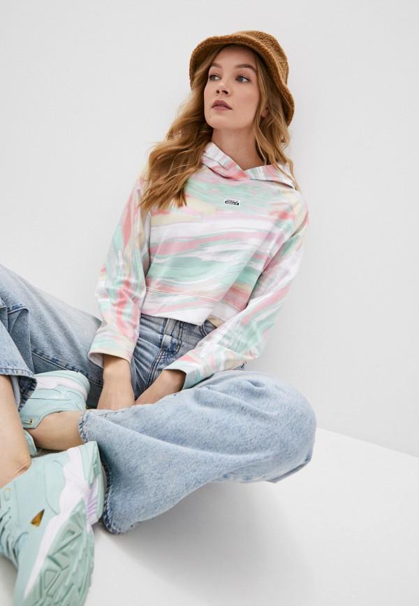 женские худи adidas, разноцветные