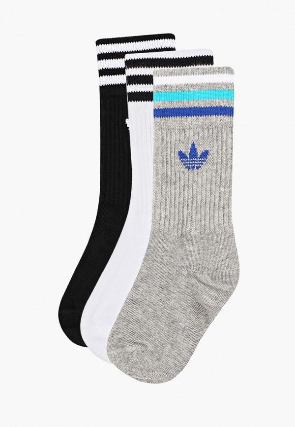 носки adidas малыши, разноцветные