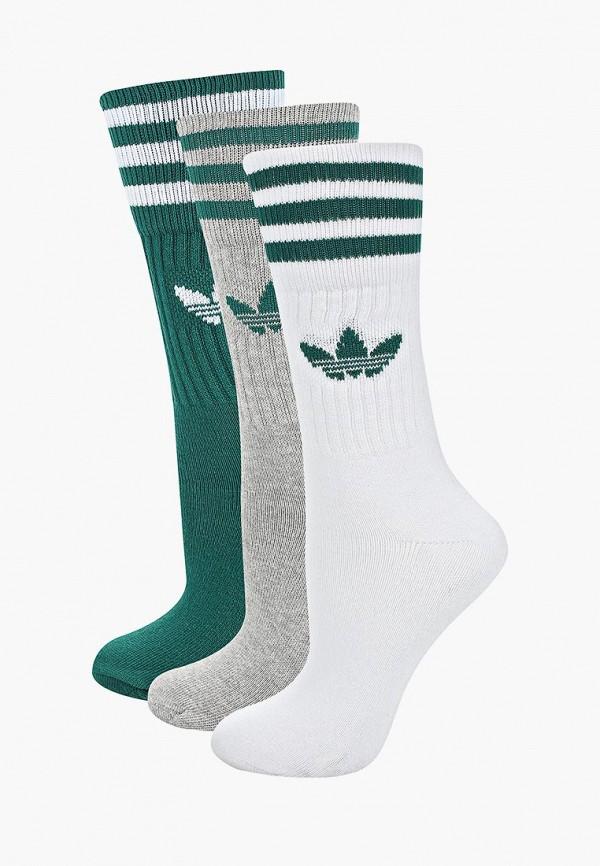 Купить Комплект adidas Originals, adidas Originals AD093FUEESL6, белый, зеленый, серый, Весна-лето 2019
