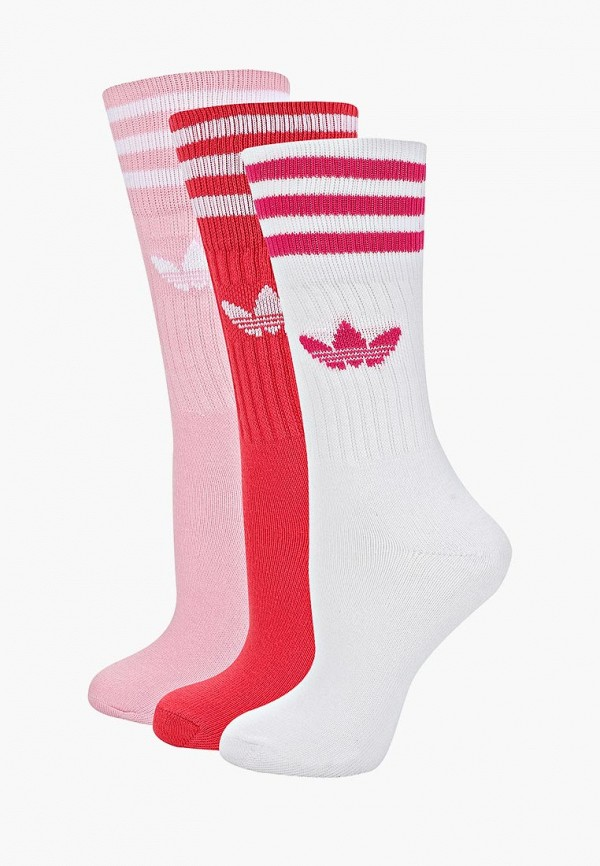 Купить Комплект adidas Originals, adidas Originals AD093FWEESR4, белый, красный, розовый, Весна-лето 2019