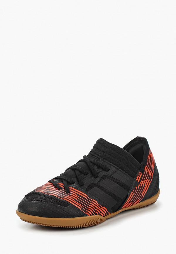 Купить Бутсы зальные adidas, adidas AD094ABALZF6, черный, Весна-лето 2018
