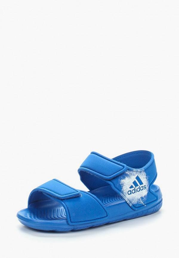 сандалии adidas для мальчика, синие