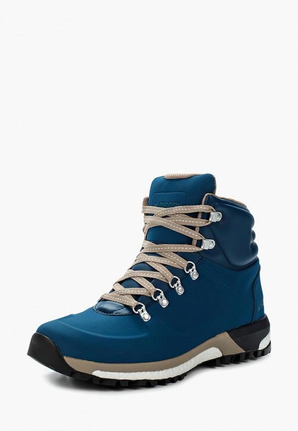 Купить Ботинки трекинговые adidas, adidas AD094AMUOS31, синий, Осень-зима 2018/2019