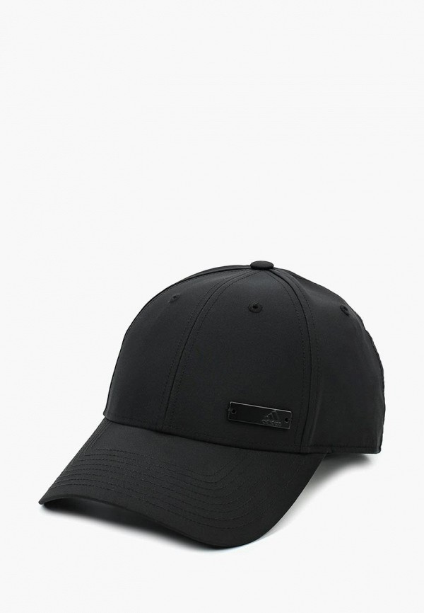 женская бейсболка adidas, черная