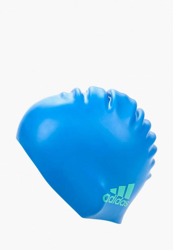 Шапочка для плавания adidas adidas AD094DKQML39 шапочка для плавания arena polyester  цвет  темно синий