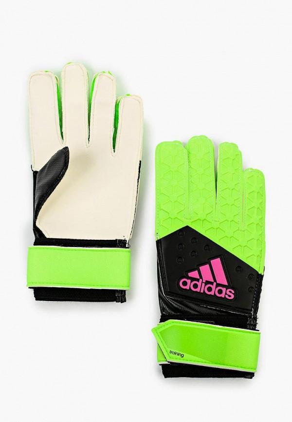 Перчатки вратарские adidas adidas AD094DUHEW38 цена