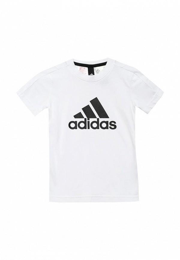Купить Футболка adidas, adidas AD094EBUOI26, белый, Осень-зима 2018/2019