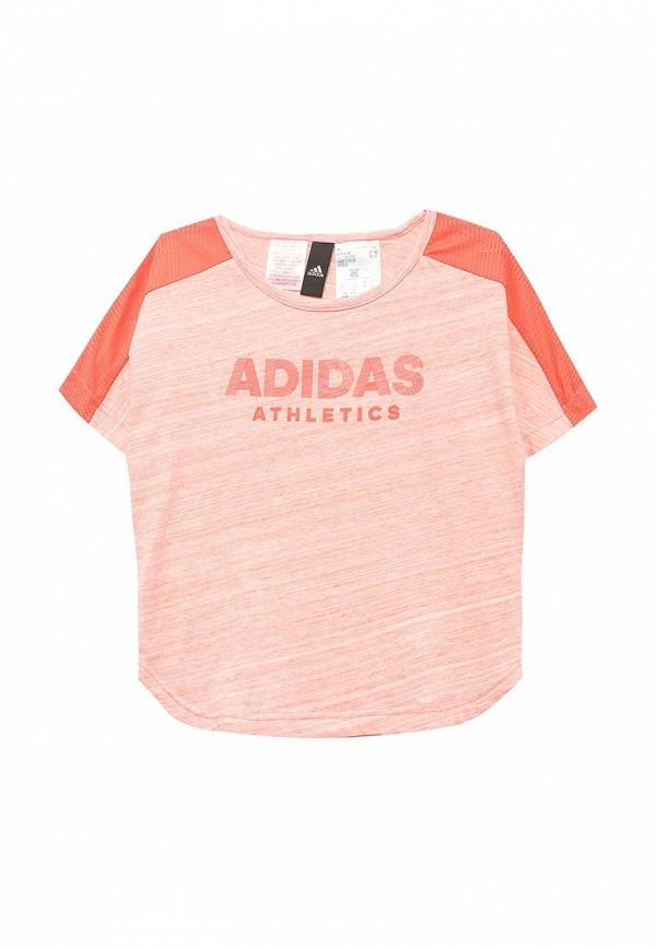 Футболка adidas adidas AD094EGQHW31 adidas adh3034