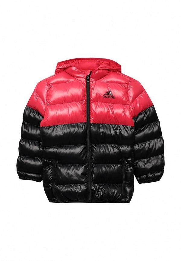 Купить Куртка утепленная adidas, adidas AD094EGUOJ13, розовый, Осень-зима 2018/2019