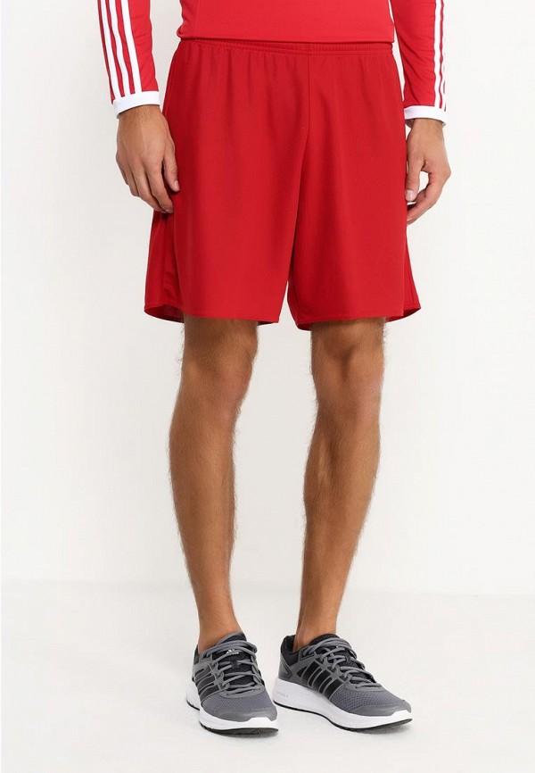 мужские спортивные спортивные шорты adidas, красные