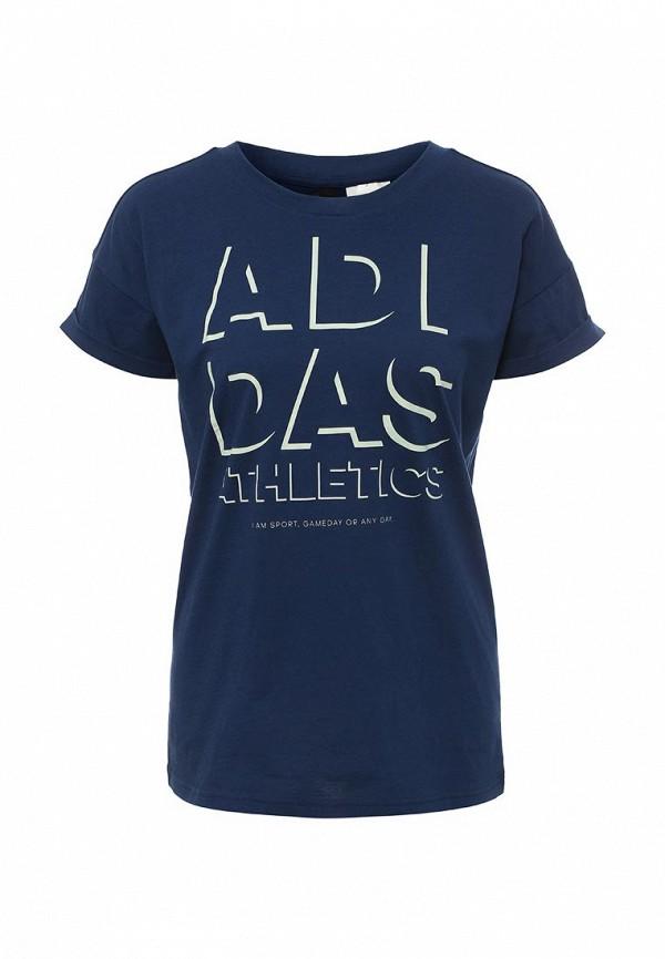 Футболка adidas adidas AD094EWQIH92