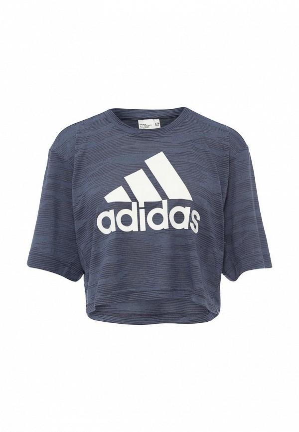 Футболка спортивная adidas adidas AD094EWQII18 футболка adidas