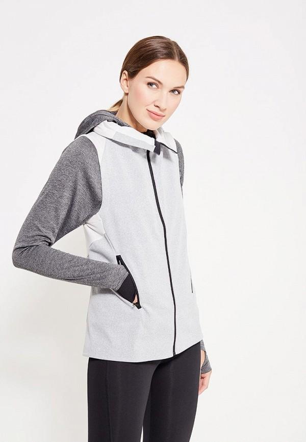 женский жилет adidas, серый
